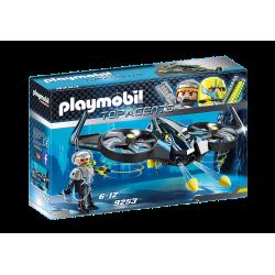 9253 PLAYMOBIL MEGA DRON BOJOWY