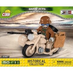 2397 COBI SMALL ARMY BMW R75 SAHARA MOTOCYKL Z BOCZNYM WÓZKIEM