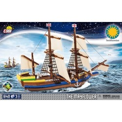 21077 COBI SMALL ARMY PILGRIM SHIP MAYFLOWER STATEK ŻAGLOWIEC