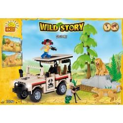 22250 COBI WILD STORY 2 SAFARI
