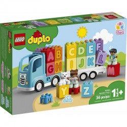 010915 LEGO DUPLO CIĘŻARÓWKA Z ALFABETEM