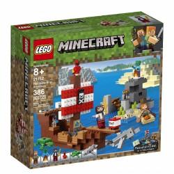 21152 LEGO® MINECRAFT™ PRZYGODA NA STATKU PIRACKI
