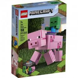 21157 LEGO® MINECRAFT™ BIGFIG ŚWINKA I MAŁY ZOMBIE