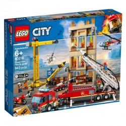 60216 LEGO® CITY STRAŻ POŻARNA W ŚRÓDMIEŚCIU