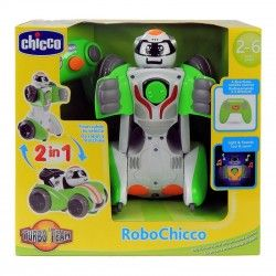 61075 CHICCO ROBOCHICCO ROBOT SAMOCHÓD ZDALNIE STEROWANY 2W1