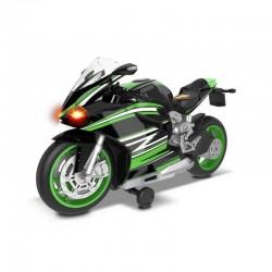 68801 DUMEL FLOTA MIEJSKA MOTOCYKL SPORTOWY ZIELONY
