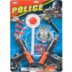 417477 ZESTAW POLICYJNY POLICJANT AKCESORIA