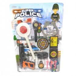 710056 ZESTAW POLICYJNY POLICJANT AKCESORIA