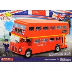1885 COBI LONDON BUS - AUTOBUS DWUPIĘTROWY