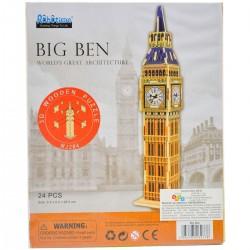 139778 DREWNIANY BIG BEN PUZZLE 3D