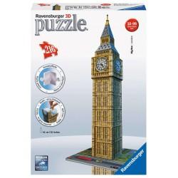 125548 BIG BEN PUZZLE PUZZLE 3D 216EL.