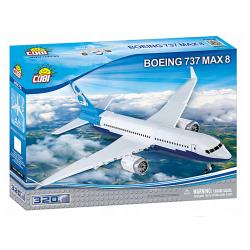 26175 COBI BOEING 737 MAX8 SAMOLOT PASAŻERSKI