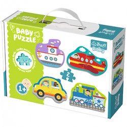 36075 TREFL BABY PUZZLE POJAZDY TRANSPORTOWE