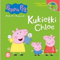 942954 KSIĄŻECZKA + DVD ŚWINKA PEPPA KUKIEŁKI CHLOE