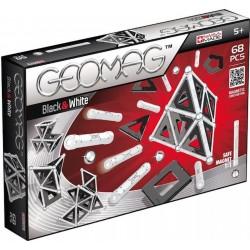 000129 GEOMAG BLACK&WHITE KLOCKI MAGNETYCZNE