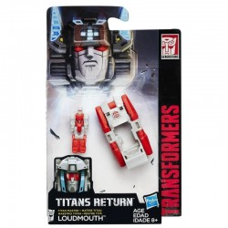 C0889 TRANSFORMERS GENERATIONS TITAN LOUDMOUTH