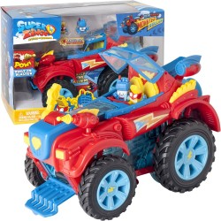 009680 SUPER ZINGS POJAZD MONSTER ROLLER + FIGURKI