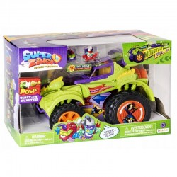 009888 SUPER ZINGS POJAZD MONSTER ROLLER + FIGURKI