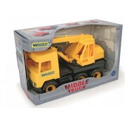 32122 WADER MIDDLE TRUCK DŹWIG POJAZD AUTO