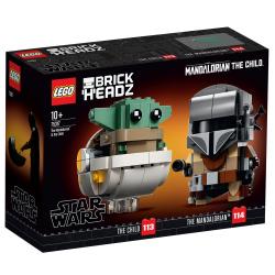 75317 LEGO STAR WARS BRICK HEADZ MANDALORIANIN I DZIECKO