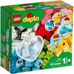 10909 LEGO DUPLO PUDEŁKO Z SERDUSZKIEM 80EL