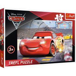 14250 TREFL PUZZLE CARS AUTA POJAZDY MAXI 24 EL