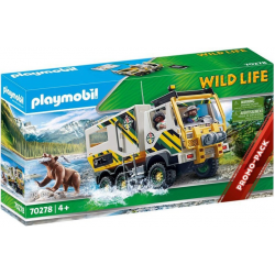 70278 PLAYMOBIL WILD LIFE CIĘŻARÓWKA