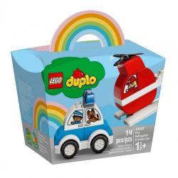 10957 LEGO DUPLO HELIKOPTER STRAŻACKI I RADIOWÓZ