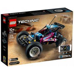 42124 LEGO TECHNIC ŁAZIK TERENOWY ZDALNIE STEROWANY