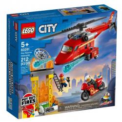 60281 LEGO CITY STRAŻACKI HELIKOPTER RATUNKOWY