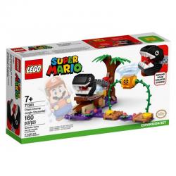 LEGO 71381 SUPER MARIO SPOTKANIE Z CHAIN CHOMPEM W DŻUNGLI