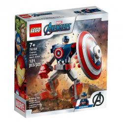 76168 LEGO MARVEL AVENGERS OPANCERZONY MECH KAPITANA AMERYKI
