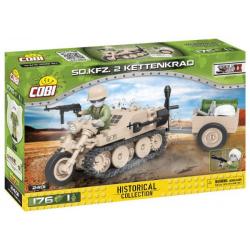2401 COBI SMALL ARMY POJAZD KETTENKRAD SD.KFZ.2