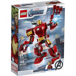 76140 LEGO MARVEL AVENGERS MECH IRON MANA