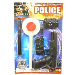 467279 ZESTAW POLICYJNY POLICJANT AKCESORIA