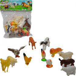 384576 ZWIERZĘTA DOMOWE FIGURKI W WORKU FARMA