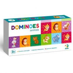 300248 DODO DOMINO ZWIERZĘTA 28 EL.