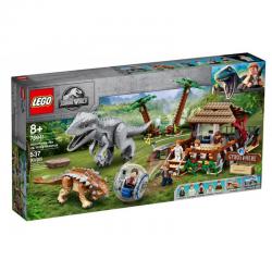 75941 LEGO JURASSIC WORLD INDOMINUS REX KONTRA ANKYLOZAUR