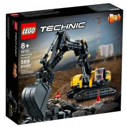 42121 LEGO TECHNIC WYTRZYMAŁA KOPARKA