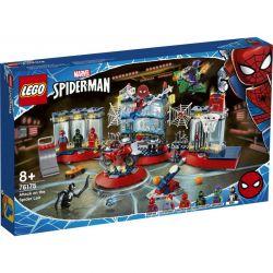 LEGO 76175 MARVEL ATAK NA KRYJÓWKĘ SPIDER-MANA