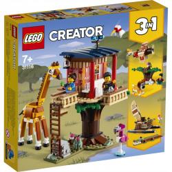 31116 LEGO CREATOR DOMEK NA DRZEWIE SAFARI