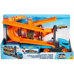 GNM62 HOT WHEELS TRANSPORTERTORY ZJAZDOWE 2W1