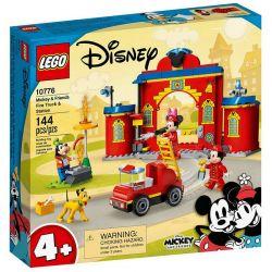 10776 LEGO DISNEY REMIZA I WÓZ STRAŻACKI MYSZKI MIKI