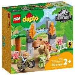 10939 LEGO DUPLO UCIECZKA TYRANOZAURA I TRICERA