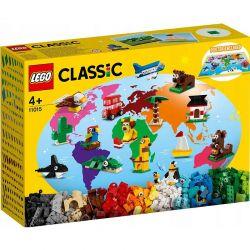 11015 LEGO CLASSIC DOOKOŁA ŚWIATA