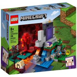 21172 LEGO MINECRAFT ZNISZCZONY PORTAL