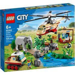 60302 LEGO CITY NA RATUNEK DZIKIM ZWIERZĘTOM