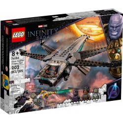 76186 LEGO MARVEL SUPER HEROES HELIKOPTER CZARNEJ PANTERY