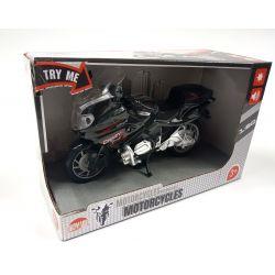 828399 MOTOR MOTOCYKL CZARNY POJAZD 1:20
