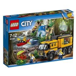 LEGO CITY 60160 MOBILNE LABORATORIUM DŻUNGLA